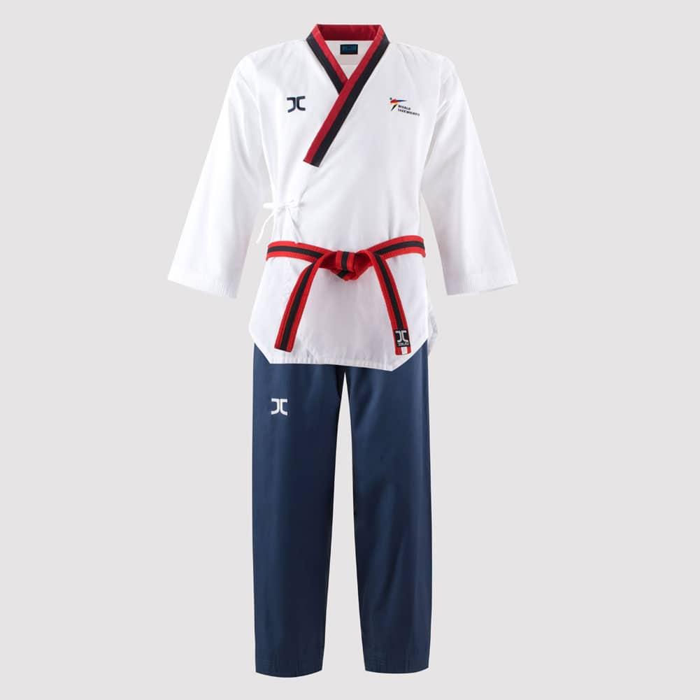 JCALICU POOMSAE Poom//WTF Poomsae Uniform For male